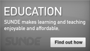 Education - SUNDE makes learning and teaching enjoyable and affordable
